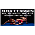 MMA Classes Banner 101