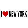 I Heart New York Sticker