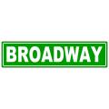 Broadway Sreet Sign
