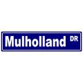 Mulholland Street Sign
