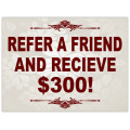 Refer a Friend Sign 101