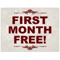 First Month Free Sign 101