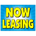 Now Leasing Sign 103