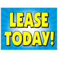 Lease Today Sign 103