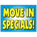 Move In Specials Sign 103