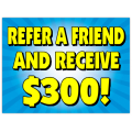 Refer a Friend Sign 103