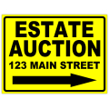 Auction Sign 102