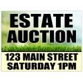 Auction Sign 106