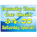 Car Wash Sign 102