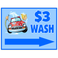 Car Wash Sign 104