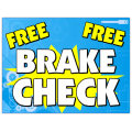 Free Brak Check Sign 102