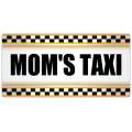Mom's Taxi License Plate 101