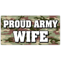 Proud Army Wide License Plate 101