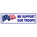We Support Our Troops Sticker 101