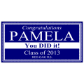 Graduation Banner 107
