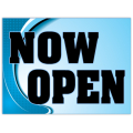 Now Open Sign 101