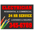 Electrician Sign 102