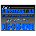 Construction Sign 105
