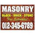 Masonry Sign 101