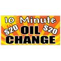 Oil Change Banner 101