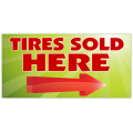 Tires Sold Here Banner 101