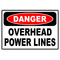 Danger Overhead Power Lines 101