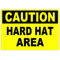 Caution Hard Hat Area 101