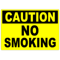Caution No Smoking 101