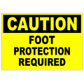 Caution Foot Protection 101