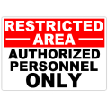 Restricted Authorized 101