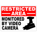 Restricted Area Monitored 101
