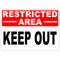 Restricted Keep Out 101