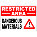 Restricted Dangerous Materials 101