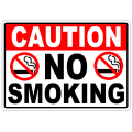 Caution No Smoking 104