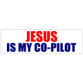 Jesus Co-pilot Sticker 101