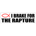 Brake For Rapture Sticker 101