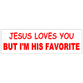 Jesus Loves You Sticker 101