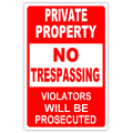 NO TRESPASSING 104