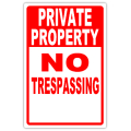 NO TRESPASSING 105