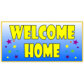 WELCOME HOME BANNER 109