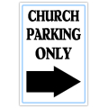 Church Sidewalk Sign 108