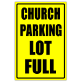 Church Sidewalk Sign 110