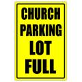 Church Sidewalk Sign 110