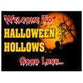 Halloween Sign 103