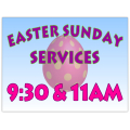 Easter Sign 104