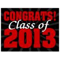 Graduation Sign 105
