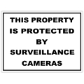 Security sign 107
