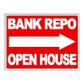 Bank Repo Stock Sign 18x24