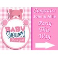 Baby Shower Sign Templates
