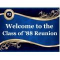 Reunion Sign Templates